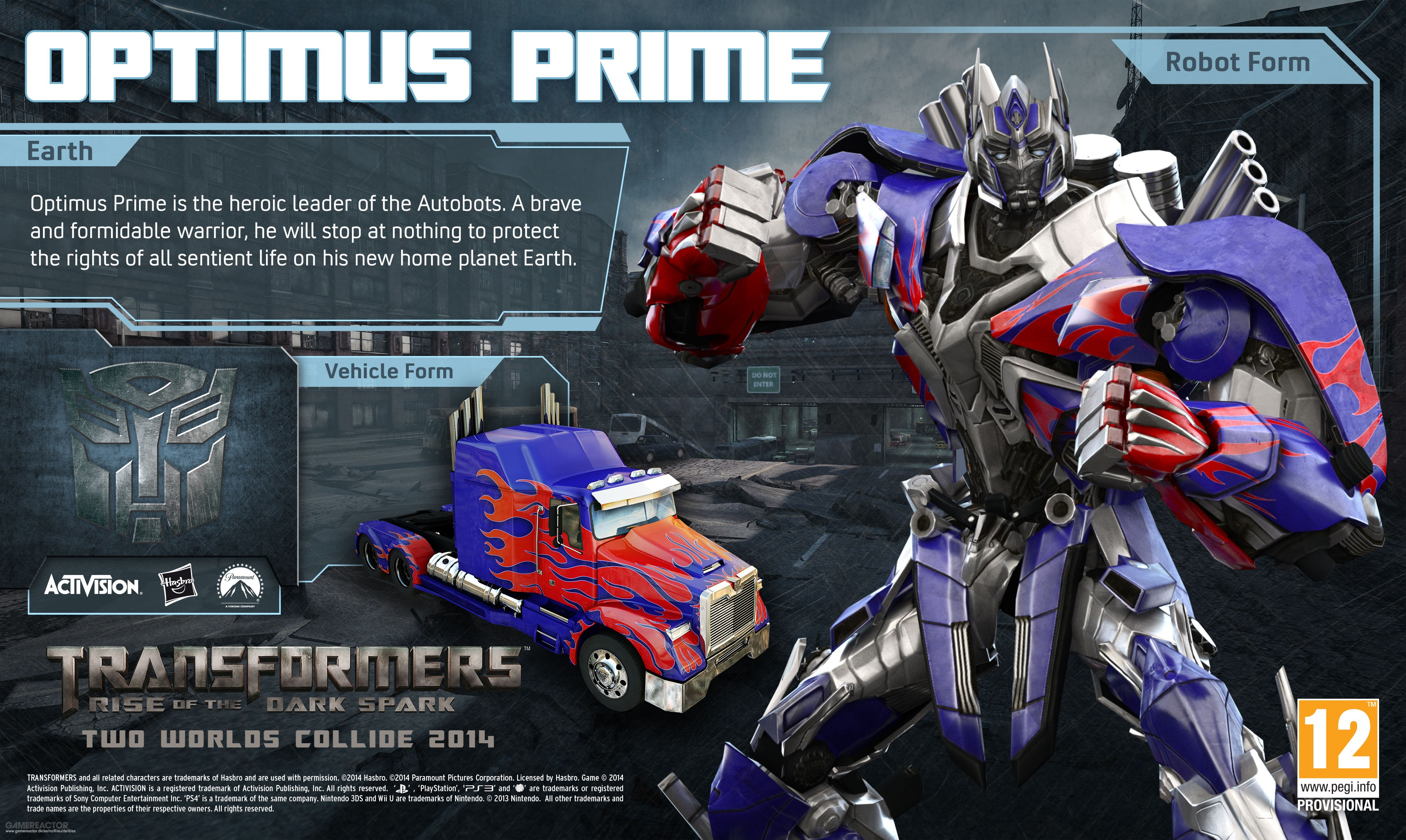 pictures of optimus prime in transformers: rise of the dark spark 3/5