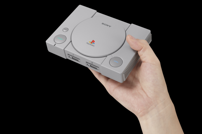 PlayStation Classic won't get new games via updates