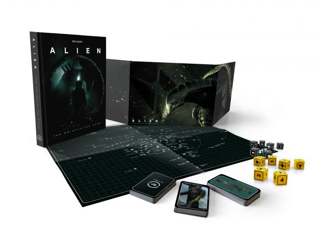 An Alien Tabletop RPG is releasing next month