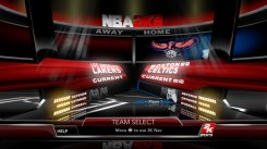 Our screens from NBA 2K9