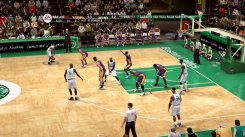 Our screens from NBA Live 09