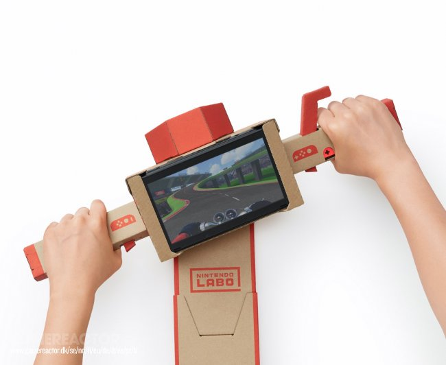 Nintendo reveals UK pricing for Labo