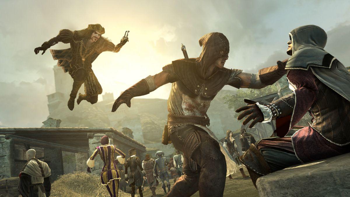Four Ac Brotherhood Pc Versions Assassin S Creed Brotherhood