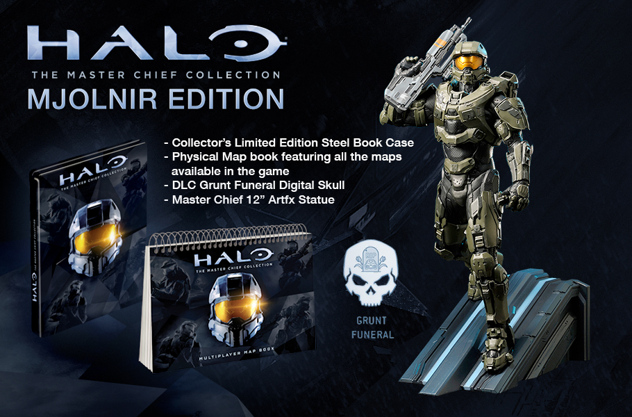 Halo The Master Chief Collection Mjolnir Edition Is