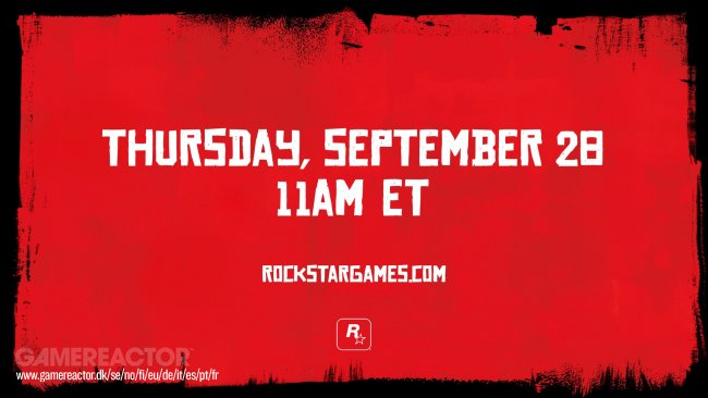 Rockstar to show Red Dead Redemtion 2 next week