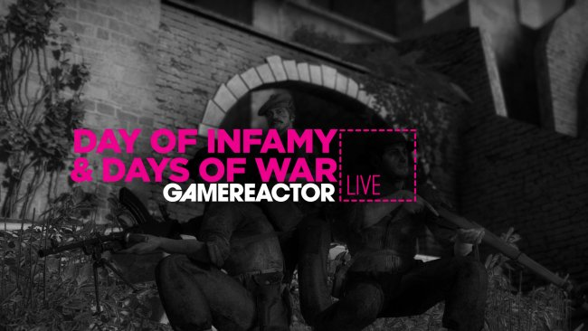 Today on GR Live: Days of War & Day of Infamy