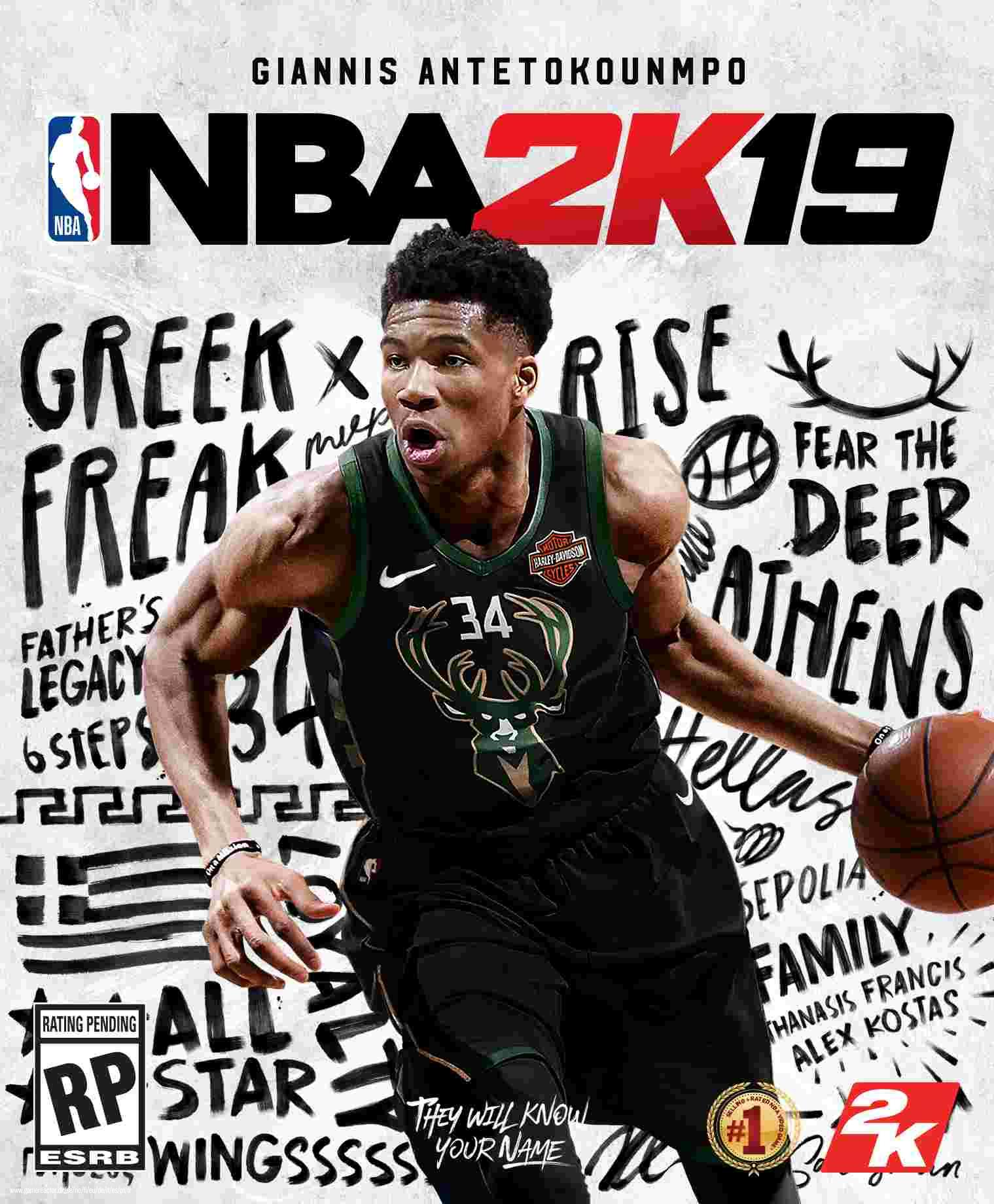 Pictures Of Nba 2k19 Cover Stars Giannis Antetokounmpo 1 4