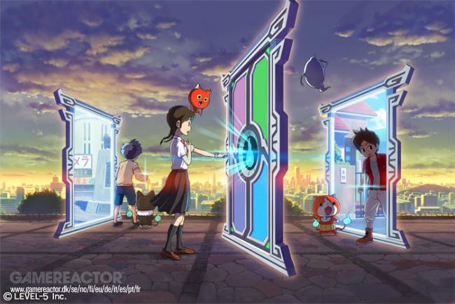 Have a look at the first Switch screenshot of Yo-kai Watch 4
