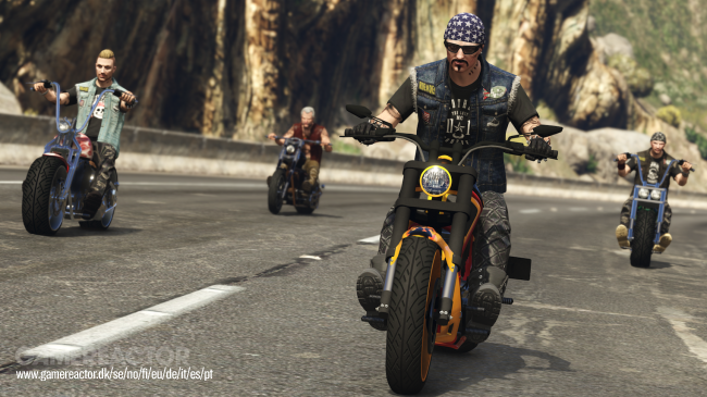 New screenshots and a date for GTA V's Bikers update