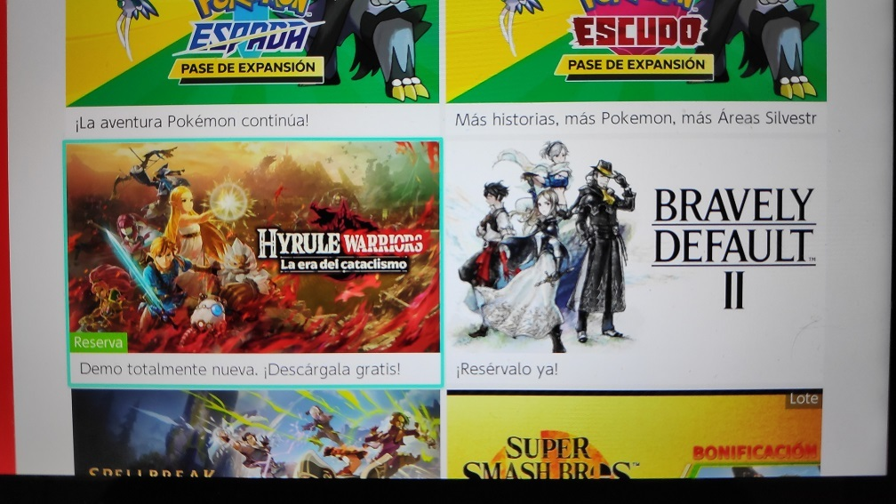 Hyrule Warriors Age Of Calamity Demo Version Mentioned On The Eshop