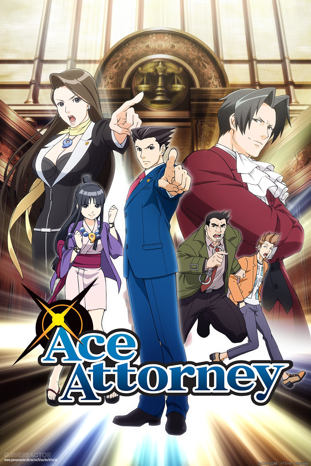 Phoenix Wright Ace Attorney Anime Series Heads West Ace