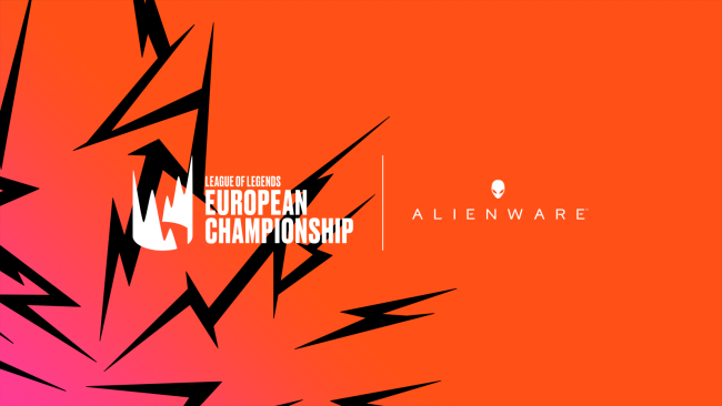 Alienware back again as main partner for the LEC for 2021