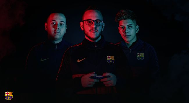 FC Barcelona reveals new eFootball.Pro roster