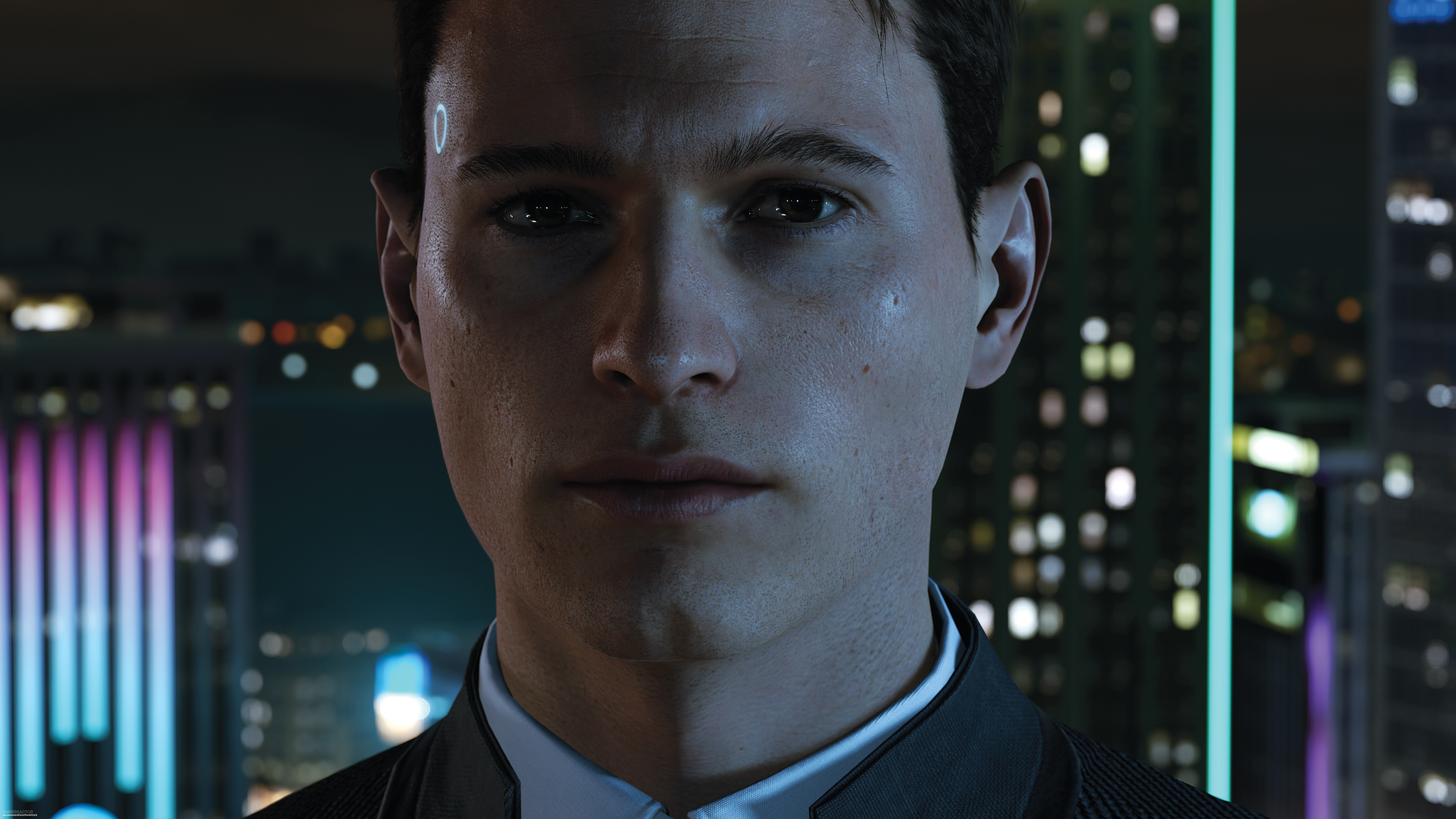 Detroit Become Human Connor Wallpaper: Detroit: Become Human Preview