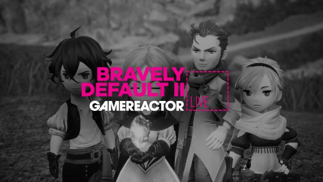 Join us for some Bravely Default II on today's GR Live