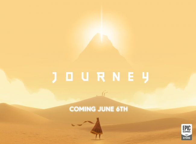 Journey coming to PC via Epic Games Store next week
