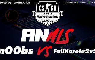 Catch our 2v2 CS:GO SteelSeries League final on today's stream