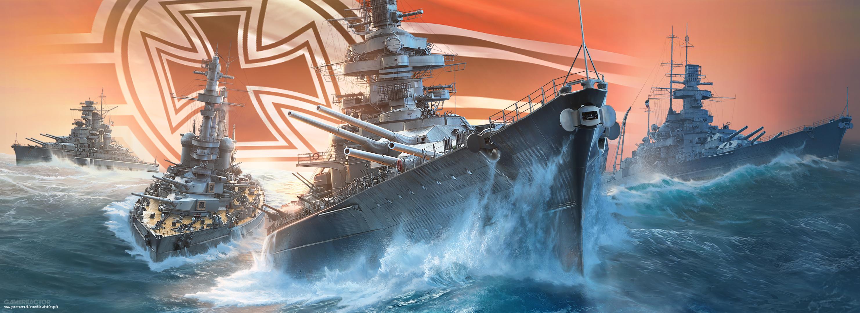 German battleships invade World of Warships Blitz
