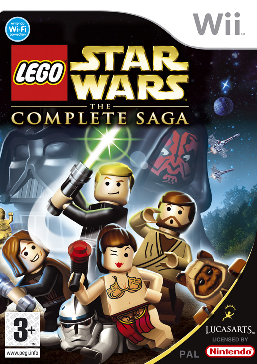 lego star wars wallpaper. Lego Star Wars: The Complete