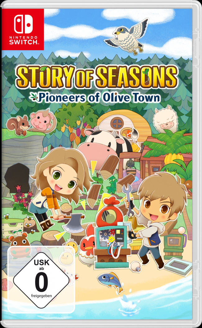 A physical Deluxe Edition of Story of Seasons: Pioneers of Olive Town has been revealed