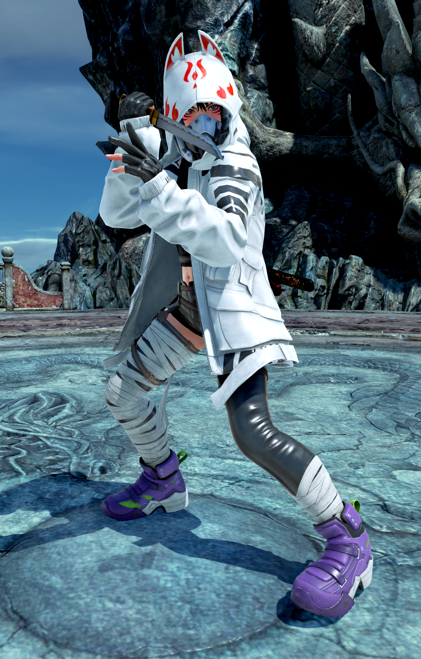 Pictures of Kunimitsu and Vermilion Gates' stage are coming to Tekken 7 4/13