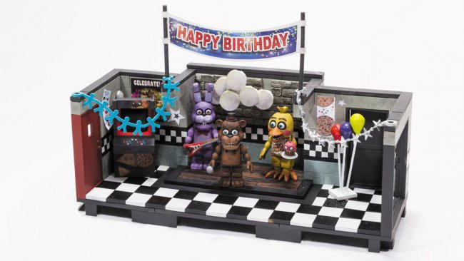 Five Nights at Freddy's playset announced