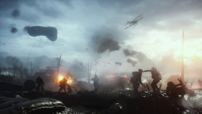Check out the Battlefield 1 reveal trailer