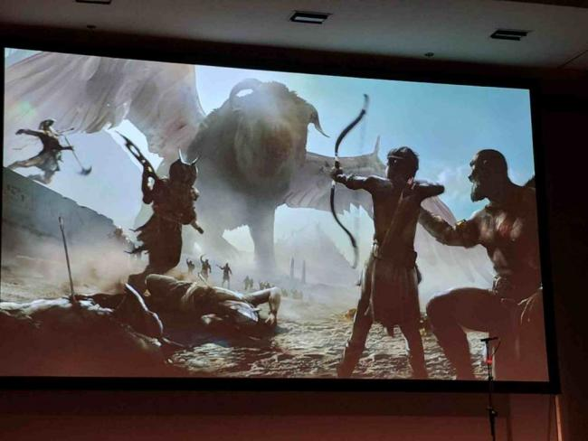 Egyptian God of War concept art shows what could have been