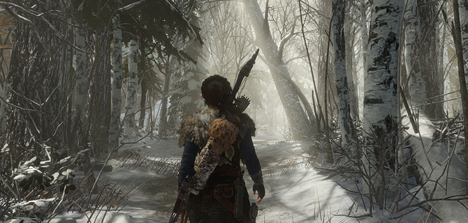Pictures Of 11 Minutes Of Rise Of The Tomb Raider Gameplay On Ps4 1 3