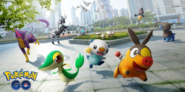 Pokémon Go expands with Unova Pokémon