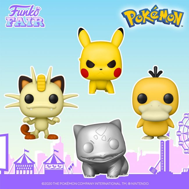 A new line of Pokémon Funko Pops have been revealed