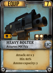 Space Wolves Heavy Bolter