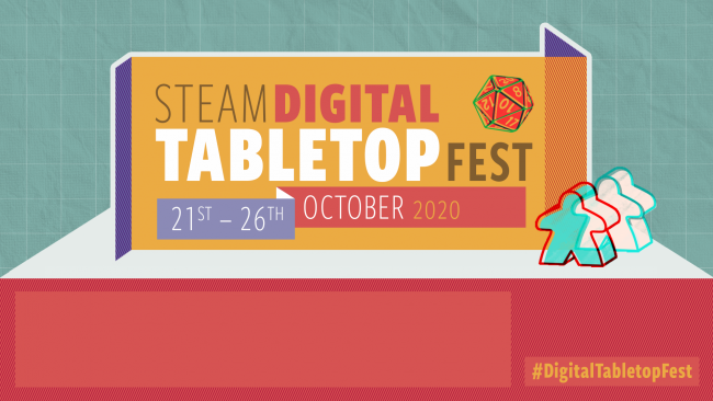 The first ever Steam Tabletop Fest debuts on 21 October