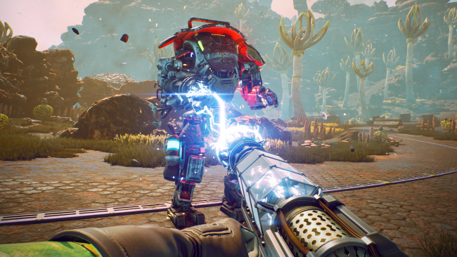 It turns out The Outer Worlds is enhanced on PS4 Pro