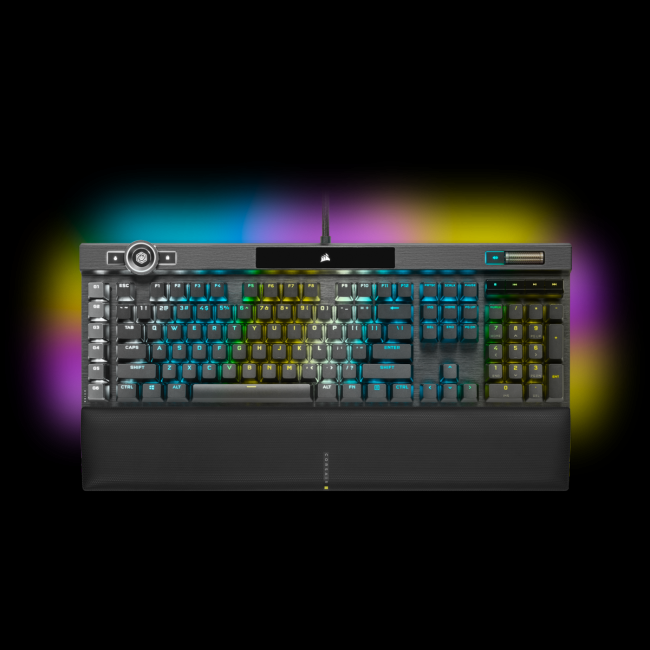 We take a closer look at the new Corsair K100 RGB keyboard