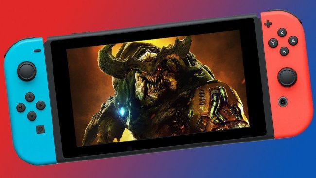 See the new Doom update for the Switch in action