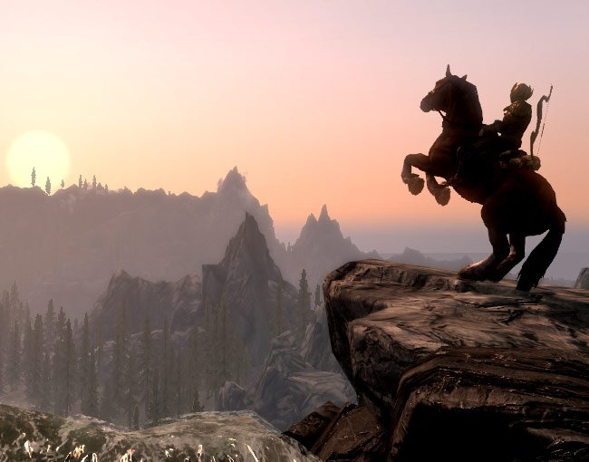 Here's frameable art from Skyrim to decorate your home