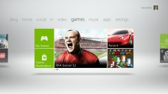 Your new Xbox 360 Dashboard