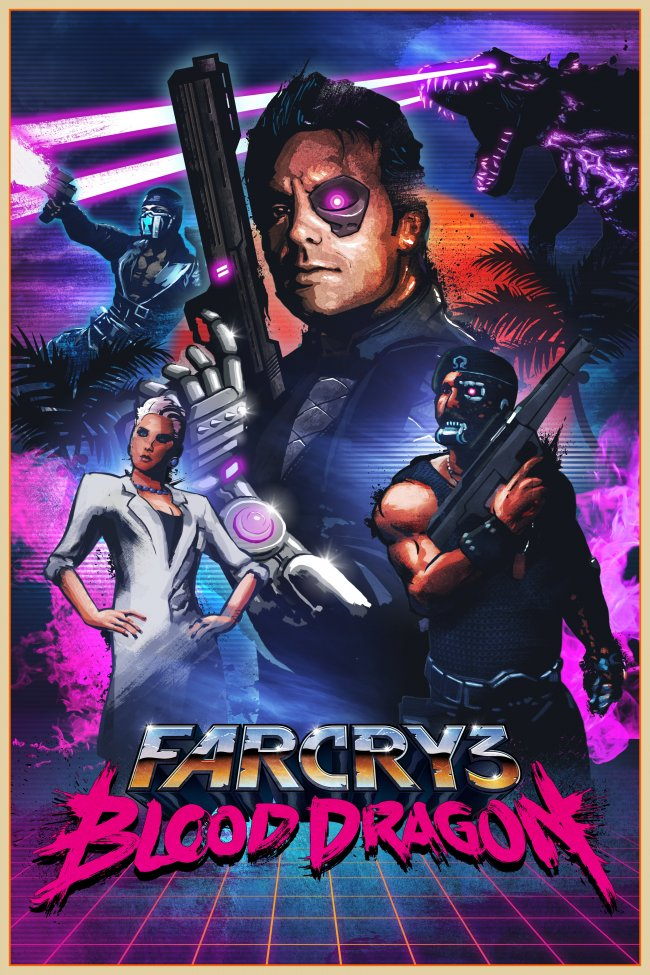 Pictures of Far Cry 3: Blood Dragon gets trailer, screens 8/8