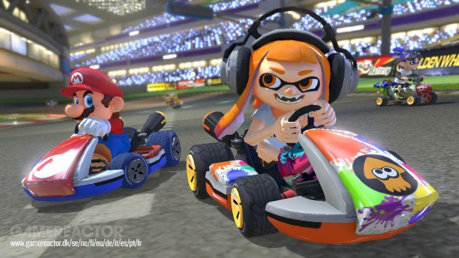 There'll be Splatoon Amiibo support in Mario Kart 8 Deluxe