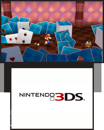 pictures of paper mario to nintendo 3ds 2 5
