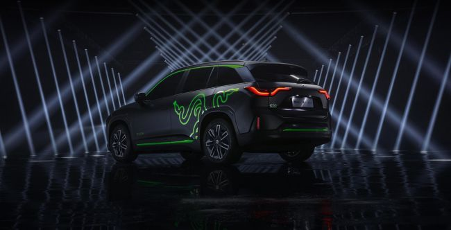 Nio and Razer launch a car together - - Gamereactor