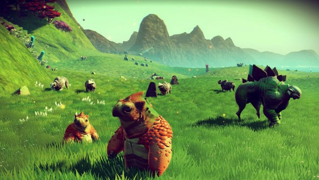 Rapidly declining player count in No Man's Sky