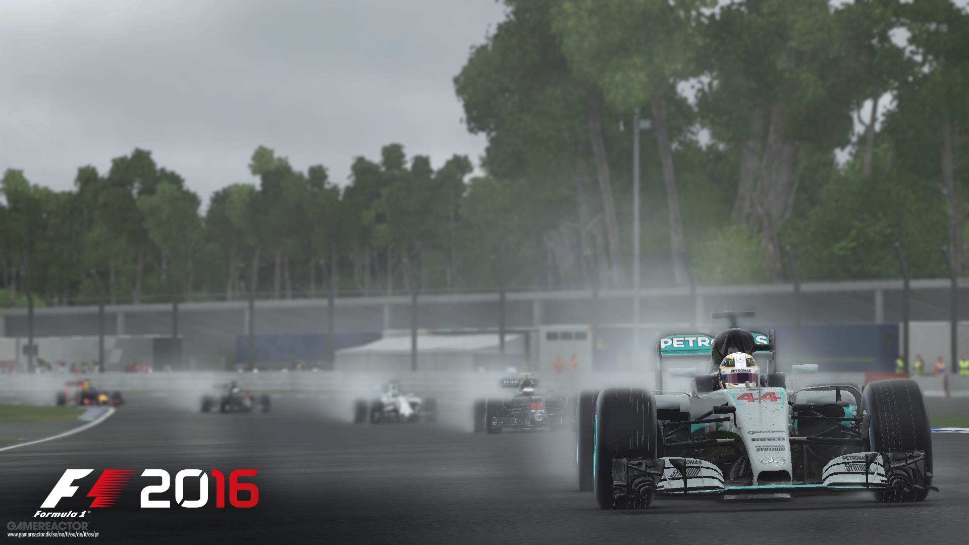 hockenheim shown off in new f1 2016 screens and hot lap. Black Bedroom Furniture Sets. Home Design Ideas