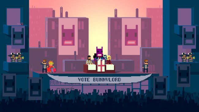 Not A Hero to release on PS4 next month