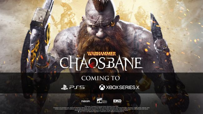 Warhammer: Chaosbane is coming to PS5 and Xbox Series X