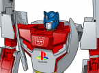 Optimus Prime transforms into Playstation