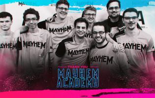 Mayhem Academy's team leaving Overwatch Contenders