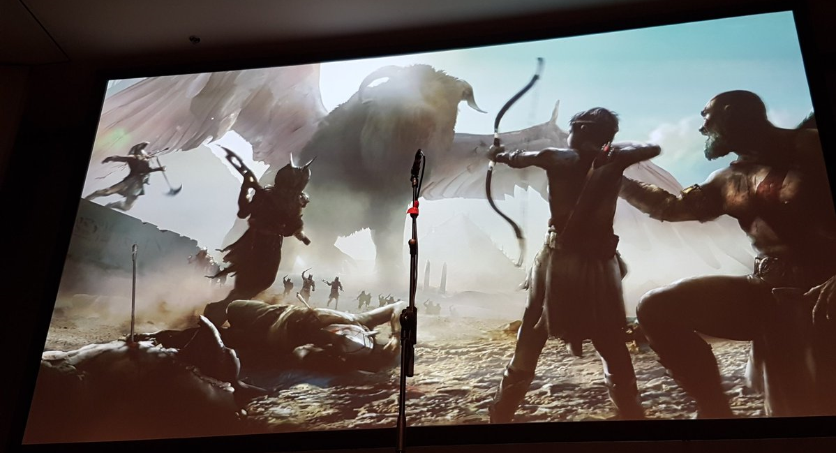 Pictures of Egyptian God of War concept art shows what could