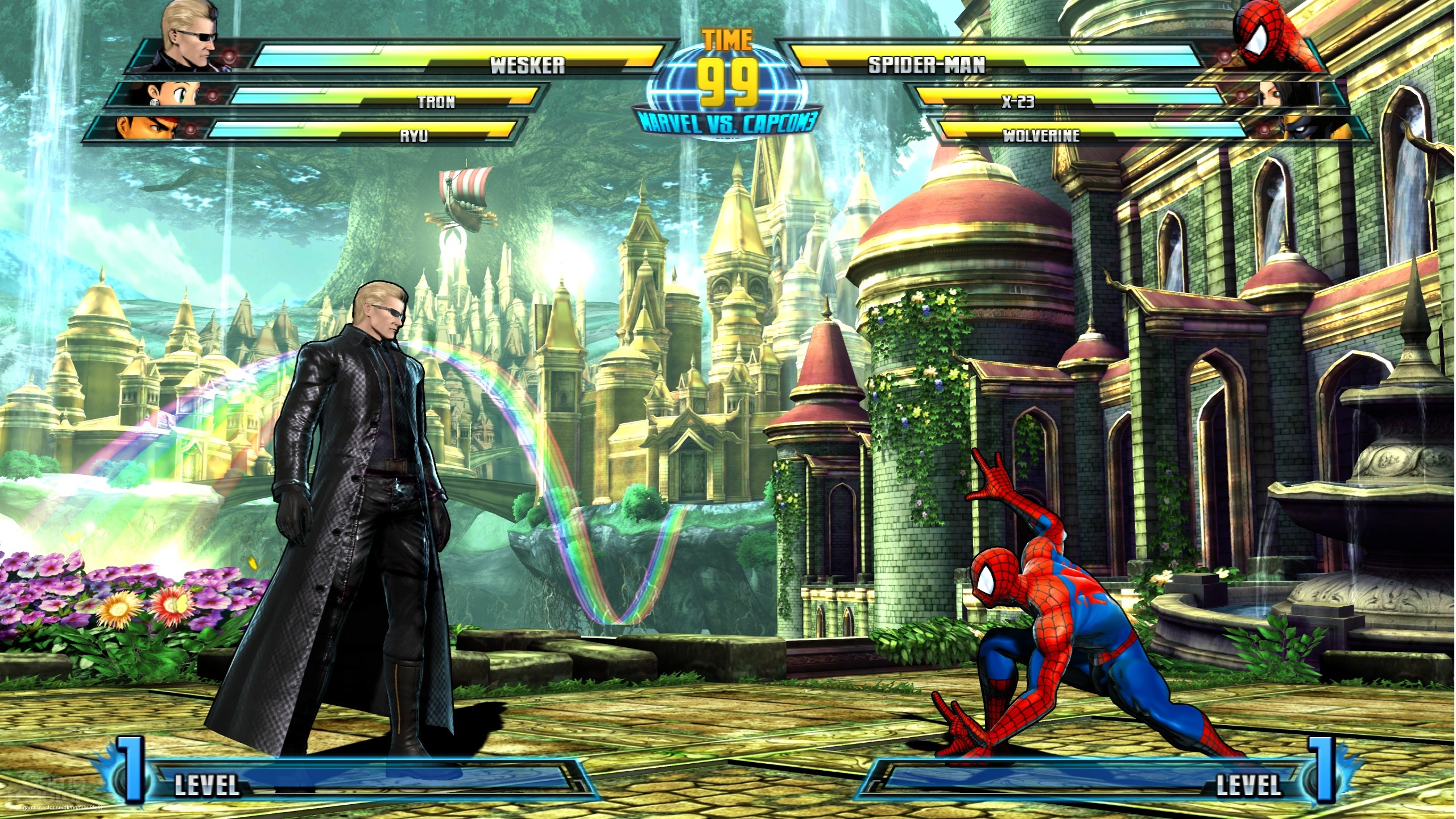 Marvel Vs Capcom 3: The Secrets - Marvel vs Capcom 3: Fate of Two